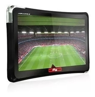 gps automotivo 4.3 polegadas touch tv digital alerta radar