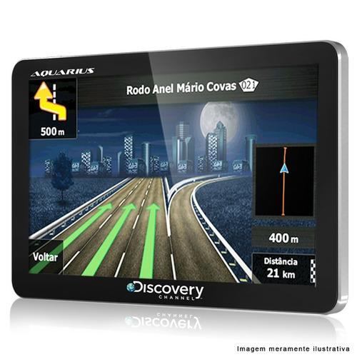 gps automotivo discovery channel 4.3 slim