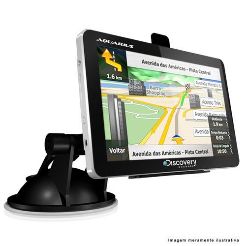 gps automotivo discovery channel 4.3 slim mtc2420