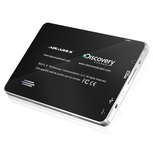 gps automotivo discovery channel 7 polegadas c/ câmera de ré