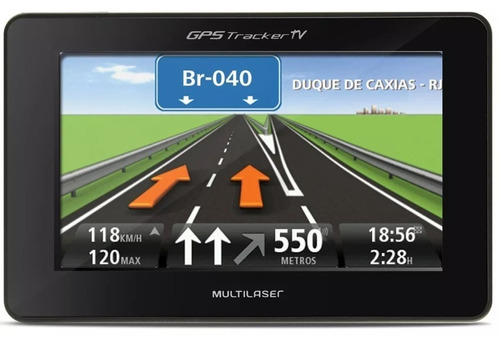 gps automotivo duster top tela 4.3 voz tv digital fm oferta