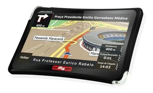 gps automotivo guia 4 rodas 4.3 polegadas tv digital e radar