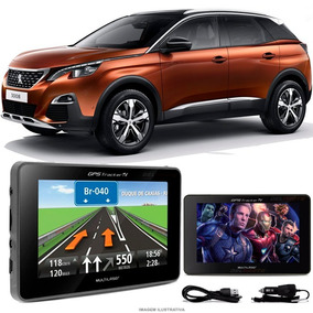 Gps Automotivo Peugeot 3008 Tela 4 3 Voz Tv Digital Fm