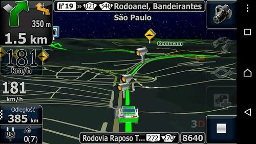 gps automotivo quatro rodas 4.3 c/ tv atualizado - novo