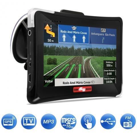 gps automotivo quatro rodas 4.3 tv digital mtc4374 - outlet