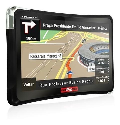 gps automotivo radar alertas de radar tela 4.3  com tv