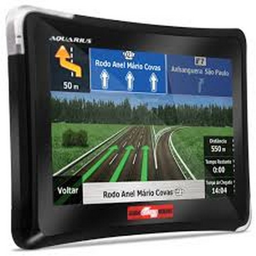 gps automotivo tv digital 4.3'' aquarius