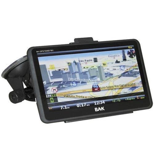 gps bak 7'' tv digital fm 3d avisa radar bluetooth + cam ré