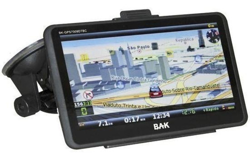 gps bak bk-gps7009dtv os windows ce - tv digital 7 polegadas
