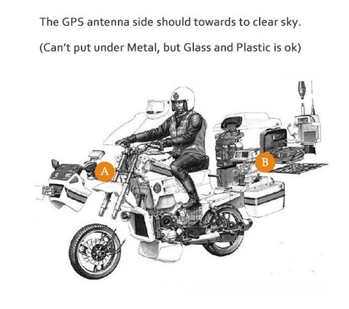 gps carro o moto tracking resiste agua / boris importaciones