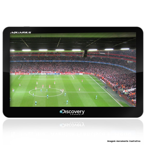 Gps Discovery Channel 7 Polegadas Tv Digital Radar Off-line