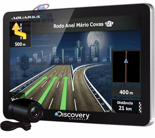 gps discovery tela 7  tv digital alerta radar e câmera de ré