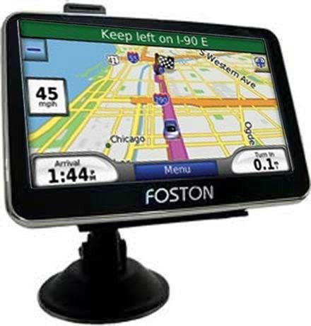 gps foston automotivo 3d 463 tela lcd 4.3 tv digital 3d463