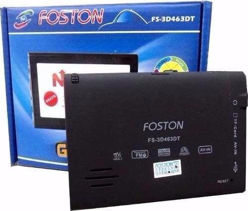 gps foston fs-3d473dc 4.3  câmera de ré atualizado igo 8.4