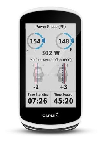 gps garmin edge 1030 bundle + mapa capa silicone pelicula