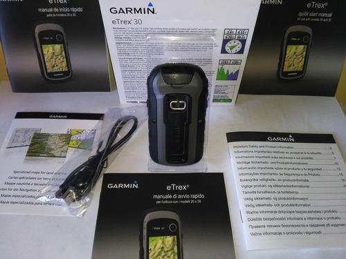 gps garmin etrex 30 brujula electronica altimetro barometric