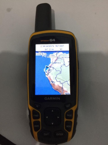 gps garmin gpsmap64 pantalla a color