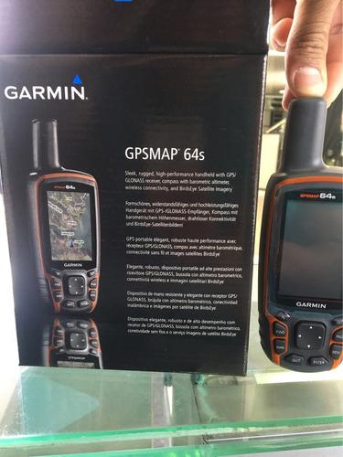 gps garmin map 64s nuevo con mapas topográficos