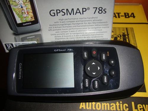 gps garmin map 78s  nuevo en caja ventajas/garantia