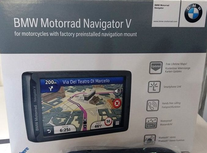 gps garmin navigator v bmw motorrad s1000 xr r. Black Bedroom Furniture Sets. Home Design Ideas
