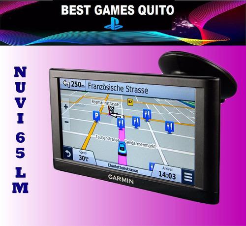 gps garmin nuvi 65lm pantalla de 6p- mapa base nuevo