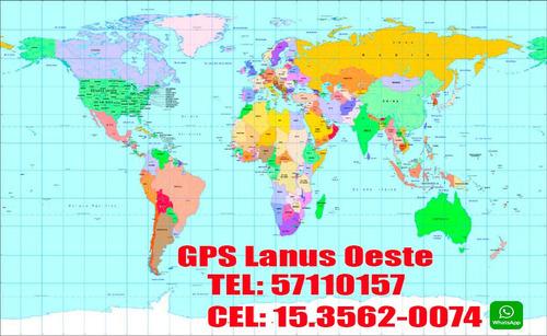 gps lanus  reparación, actualización, técnico electrónico