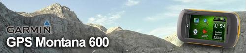gps montana 600 mapa del ecuador, software, estuche y pilas.