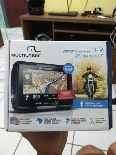 gps  multilaser tracker 4,3 para moto