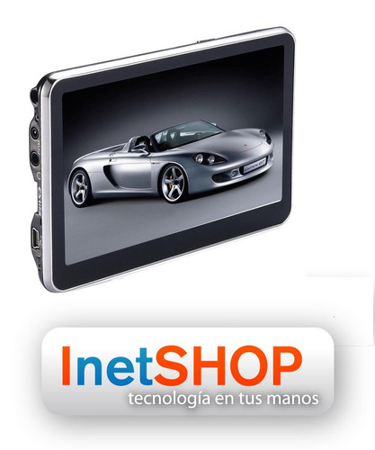 gps navegador súper grande 5 tv digital, igo garmin ndrive!