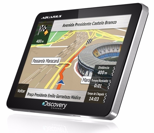 gps navegador tv digital mp3 mp4 tela 7 discovery barato