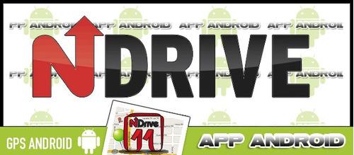 gps ndrive 11 español - mapas actualizados de arg - android
