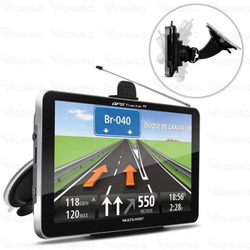 gps para carro 7 polegadas com tv digital radio fm 2g gp038
