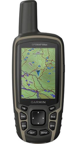 gps portátil garmin gpsmap 64sx mapa topoactive américa sul