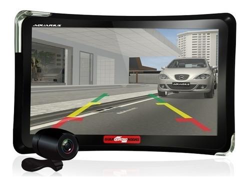 gps quatro rodas 7.0 tv digital slim alerta radar mp3 carro
