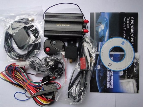 gps rastreador bloqueador veicular tk-103b frete gratis