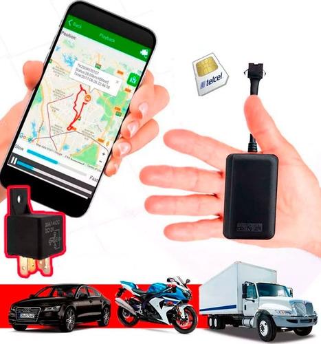 gps rastreador satelital para motocicleta o auto tracker