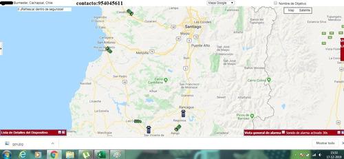 gps, rastreo satelital en linea