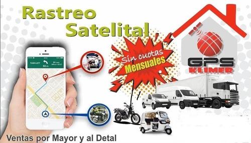 gps recargable vehículos y motos sin mensualidades de pago