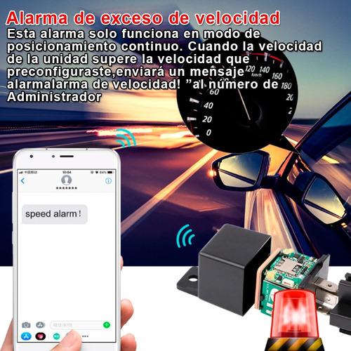 gps relay relevador espía plug&play + cuenta administrativa