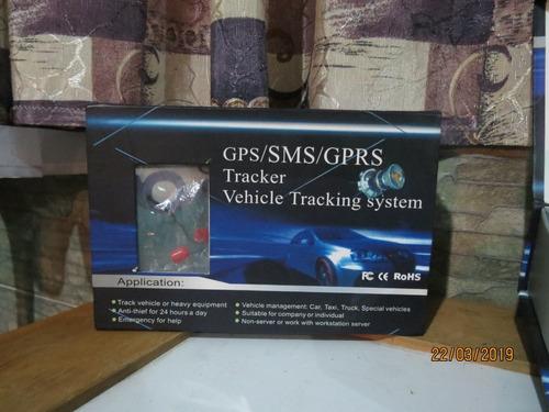 gps/ sms/ gprs tracker vehicle tracking system poco uso