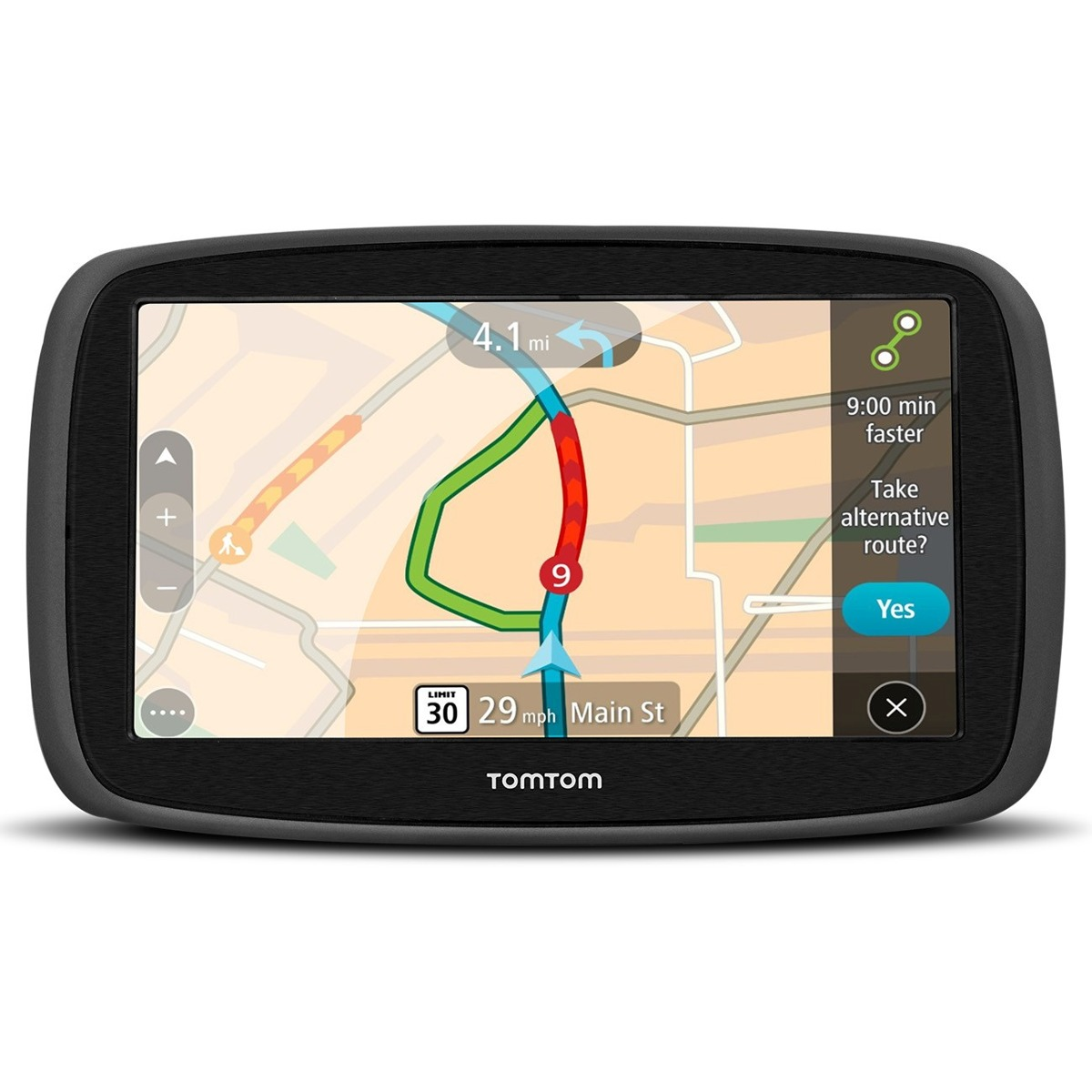 gps tomtom automotivo go 50b tela de 5 0 r 548 90 em mercado livre. Black Bedroom Furniture Sets. Home Design Ideas