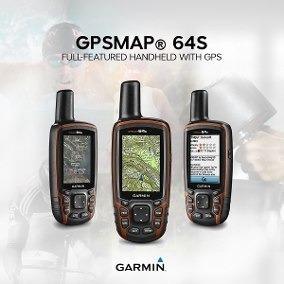 gps topografico garmin 64s + bateria