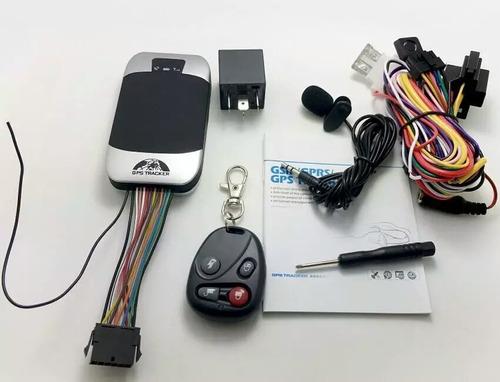 gps tracker 303g, para carros y motos mas control remoto.