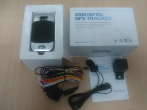 gps tracker 303h rastrea apaga carros motos gsm gprs $$