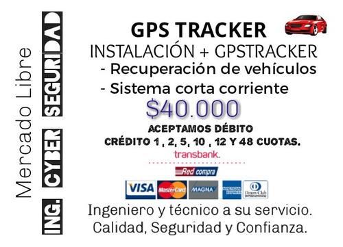 gps tracker con instalación