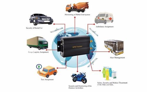gps tracker  localizador anti robo satelital celular gsm