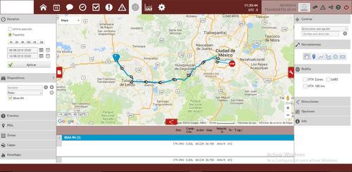 gps tracker localizador mas  1 año plataforma especializada