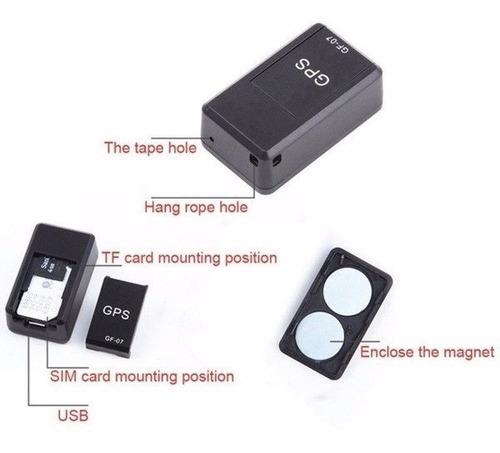 gps tracker localizador microfono espia antiperdido