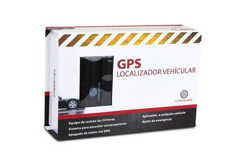 gps tracker localizador rastreador auto no renta apaga motor