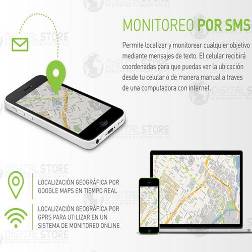 gps tracker localizador rastreador satelital auto cable 12v